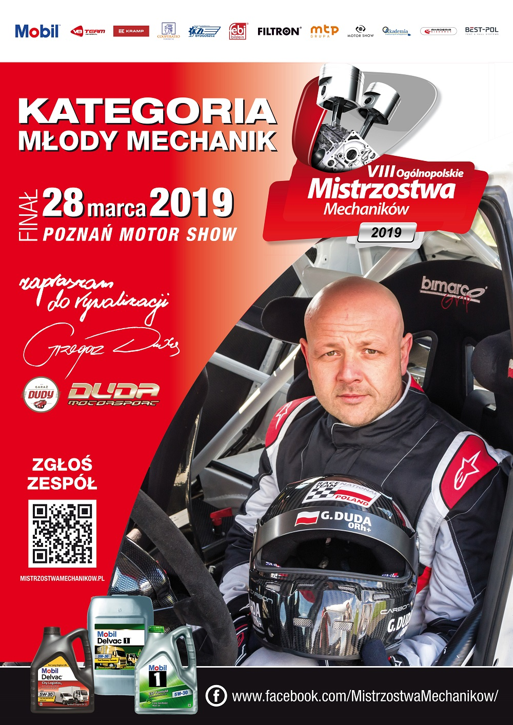 Plakat 2019 Młody Mechanik